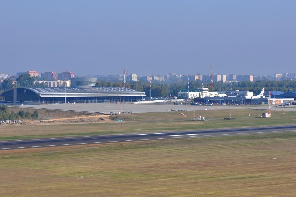 Łódź Władysław Reymont Airport, in central Poland