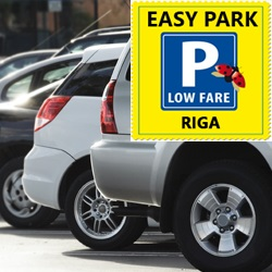Nyt voit pysäköidä Easy Parkilla Riian lentoaseman vieressä.