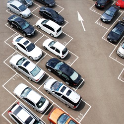 Охраняемая парковка в аэропорту Каунаса