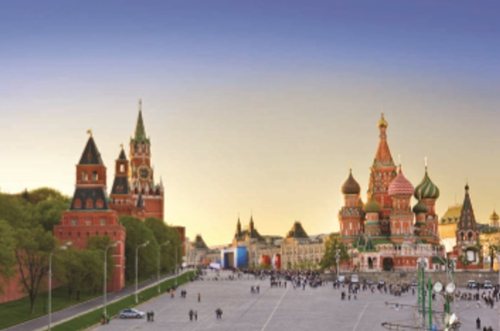 The Red Square in Moscow, where UKTI's export mission takes place this week.