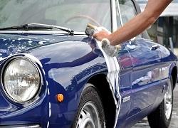 Ali je tudi vozilo očiščeno med tem, ko je parkirano?