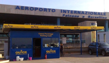 Palermo airport's on-site parking now available on the ParkCloud network.