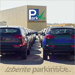 ParkVia je Vaše vse na enem mestu parkirišče!