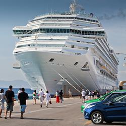 Escolha parking… e embarque em seu cruzeiro!