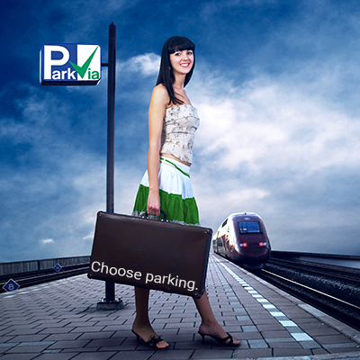 Cestujte a parkujte s ParkVia