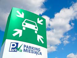 P1 Parking Lotnisko Łódź został Operatorem Miesiąca