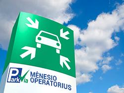 P4 Unipark Vilnius – mėnesio operatorius