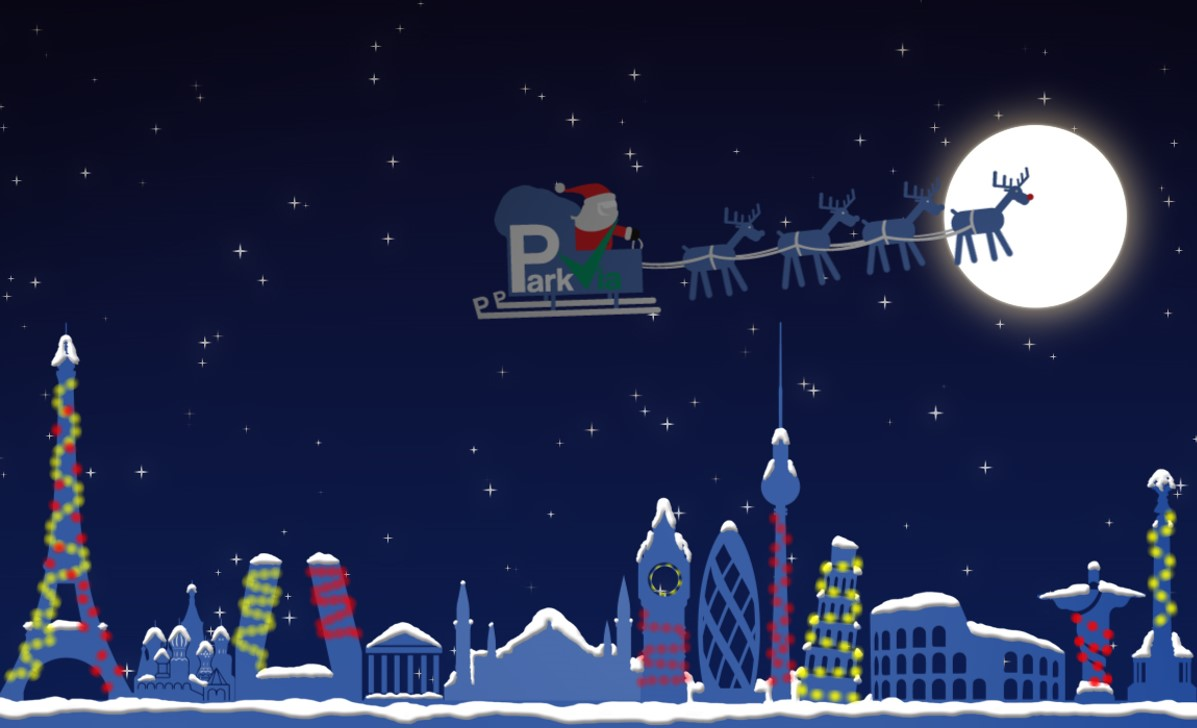 ParkVia. Choose parking Kalėdos!