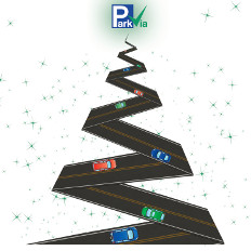 ParkVia wünscht Ihnen frohe Weihnachten