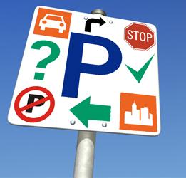 Sužinokite viską apie parkavimą