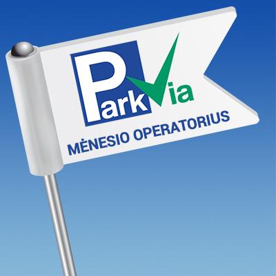 Mėnesio operatorius: P7 UniPark Vilnius!