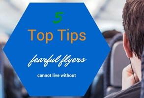 5 patarimai turintiems skrydžio baimę