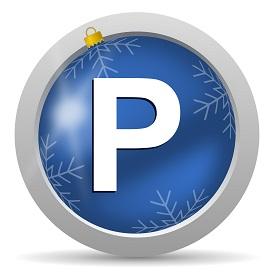 Escolha estacionar neste Natal